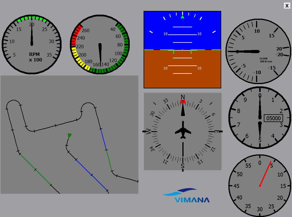 Pilotentest FQ Trainingssoftware von Vimana-0003