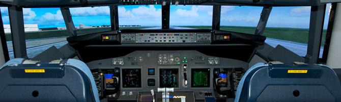 Simulatortraining bei Vimana in Kooperation mit iPILOT