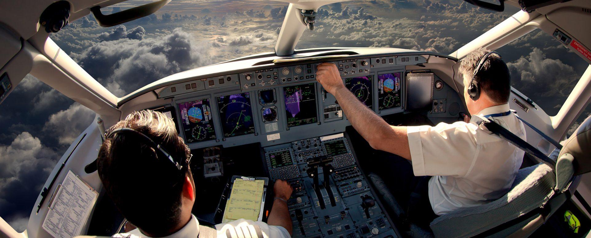 Blick ins Cockpit - Pilotenkarriere